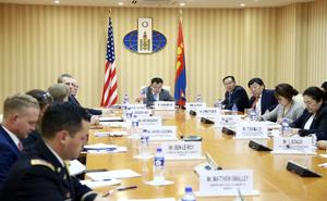 Bilateral consultation held between Mongolia and US