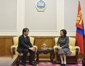 Deputy speaker discusses bilateral relation with Japanese ambassador