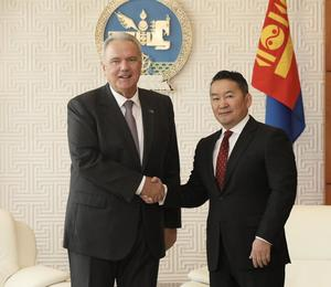 European Commissioner Mimica visits Mongolia to strengthen bilateral relations