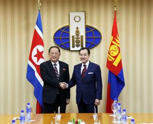 North Korean minister of foreign affairs visits Mongolia