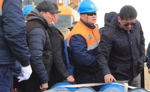 Premier reviews water supply project in Govi-Altai