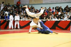 Judokas prepare for at Dusseldorf Grand Slam 2020