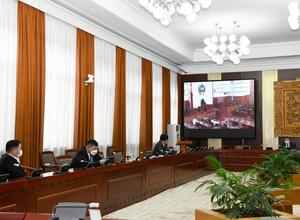 Parliament discusses Constitutional Court conclusion