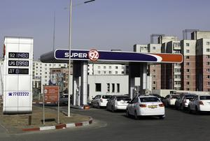 Petrol prices slide down 280-300 MNT