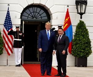 Mongolia and USA  declare strategic partnership