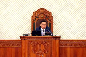 G.Zandanshatar becomes speaker of Parliament