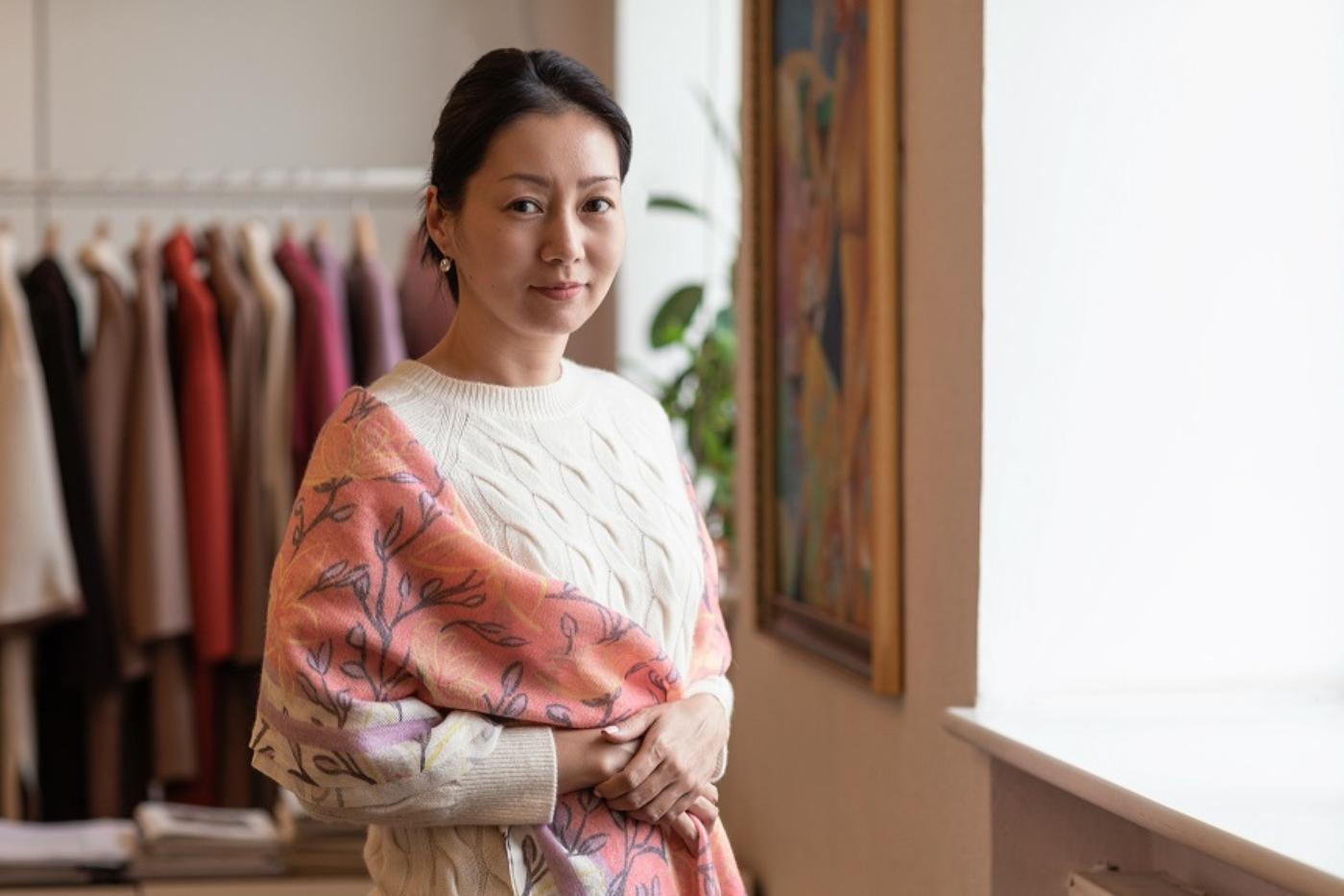 ARIUNAA BATCHULUUN: Gobi becomes the first Mongolian cashmere brand to launch online shop in the USA