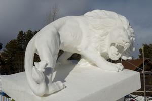 Mongolia wins gold at Breckenridge Int'l Snow Sculpture Championships