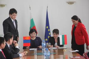 Minister R.Burmaa visits Bulgaria and Hungary