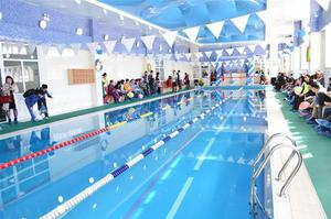 Swimming pool and fitness facility opens in Khan-Uul District