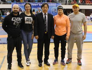 Wrestlers from Finland and  Latvia arrive in Mongolia to   hold joint training