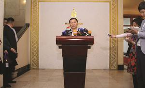 Former PM claims President Elbegdorj is a 'leader of conspiracy'