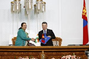Mongolia-India ties strengthen with Lok Sabha Speaker's visit