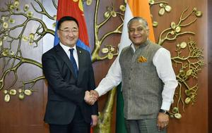Foreign Minister hosts India-Mongolia Joint Committee on Cooperation