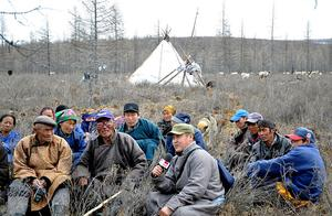 Office of the President holds talks with reindeer herders