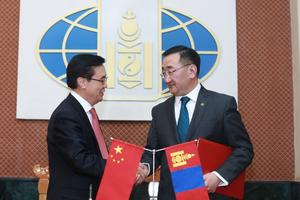 Mongolia and China look to strengthen trade and economic ties