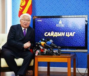 Ulaanbaatar Mayor says he'll step down if his son's offshore company conducted transactions