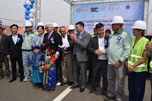 New road opens in Khan-Uul District