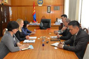 Mongolia's legislation discussed with World Bank's governance specialists