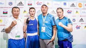 Kh.Enkh-Amar and E.Tsendbaatar win Olympic qualification
