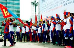 Ulaanbaatar celebrates Mongolian Athlete Day