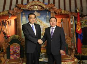 President Ts.Elbegdorj affirms stable relations with China