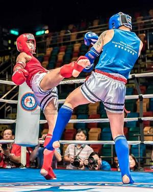 S.Batjargal wins silver medal at East Asian Muay Thai Championships
