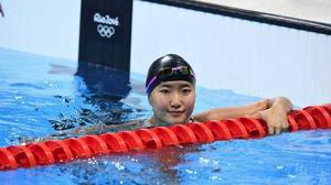 16-year-old swimmer B.Yesui breaks state record