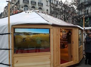 Mongolia takes part in Brussel's Winter Wonders