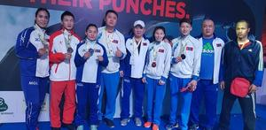 Mongolian boxers claim 5 medals at India Open