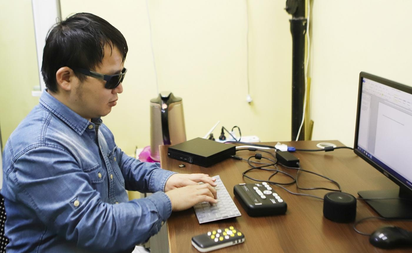 Helping the blind visualize the world