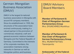 Advisory Board of German-Mongolian Business Association