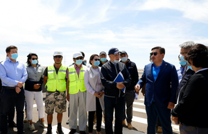 Speaker visits oil refinery project