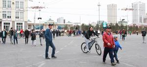 Car-Free Day promotes risk-free, healthy city