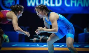 Freestyle wrestlers lead world ranking
