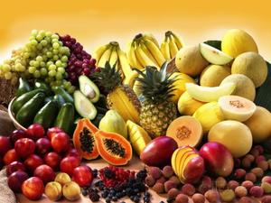 320 tons of fruit imported in 2016