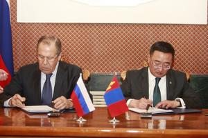 Mongolia and Russia sign mid-term program agreement to develop strategic partnership