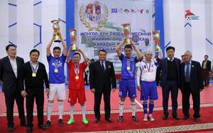Sansar Cup senior football tournament concludes