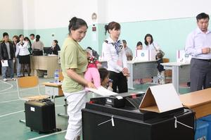 Votes being cast today for Mongolia's future