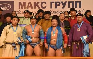 E.Enkh-Amgalan wins the first Mongolian wrestling tournament of the year
