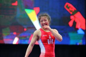 P.Orkhon triumphs at Asian Wrestling Championships